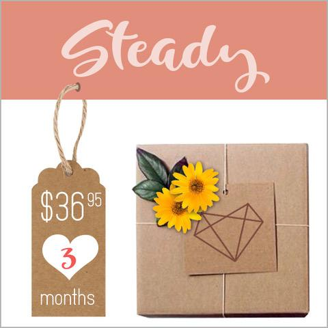 DateBox Club - 3 month subscription - $36.95 each box