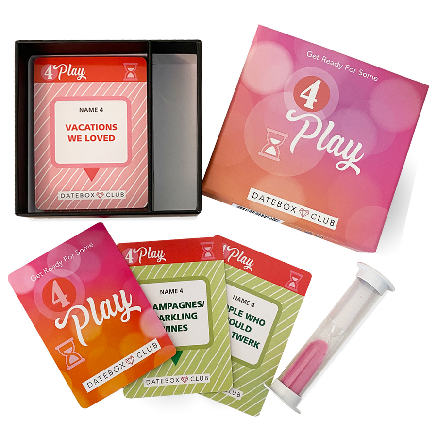 4Play Boxed Game