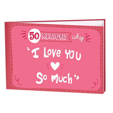 50 Reasons Why I Love You Books (set of 2)
