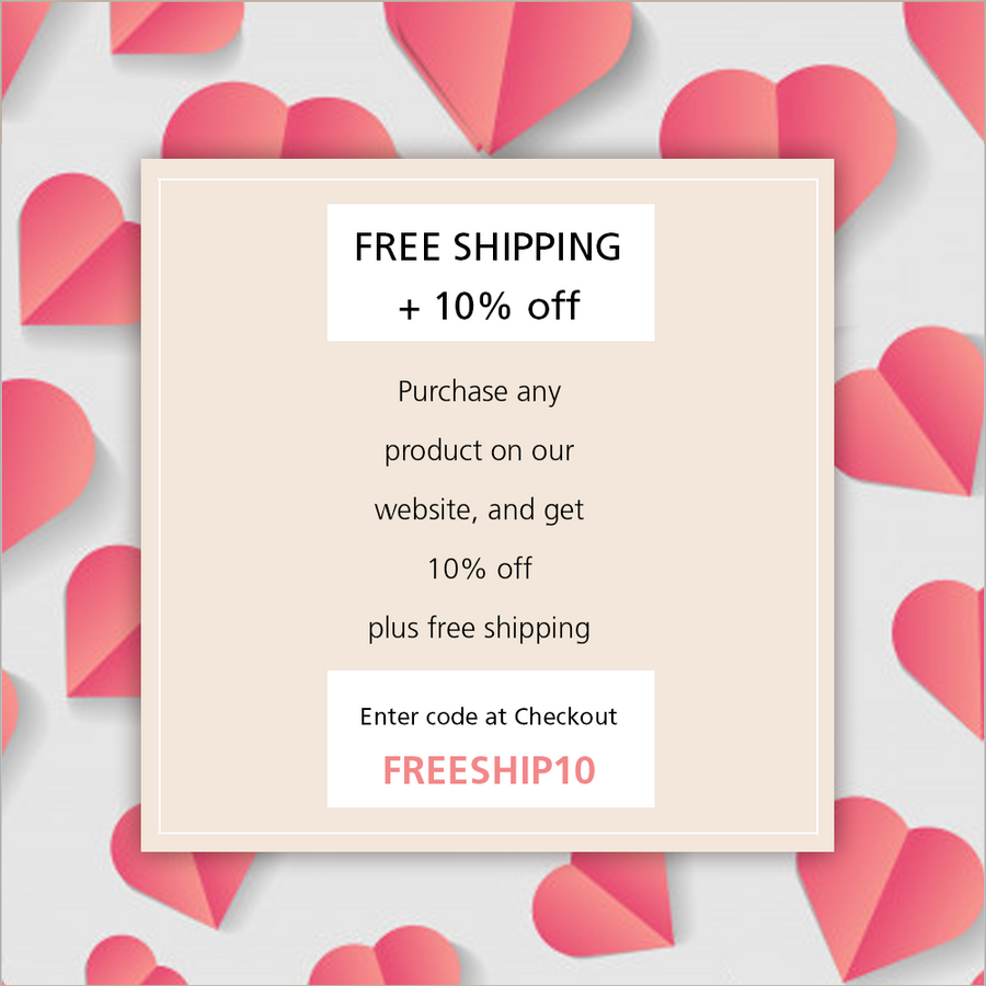 Free Shipping + 10% Off