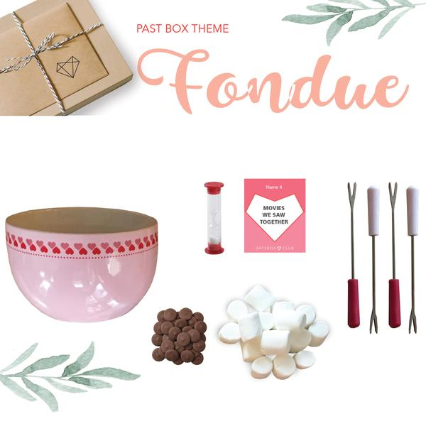 Past DateBox - Fondue