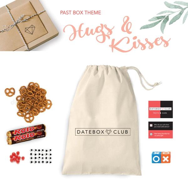 Past DateBox - Hugs & Kisses Theme