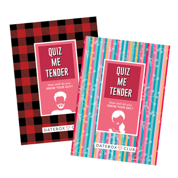 Quiz Me Tender - Intimate Quiz Activity