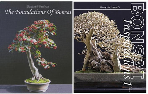 Bonsai Books by Harry Harrington - Set of 2
