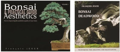 Set of 2 Bonsai Books by Francois Jeker