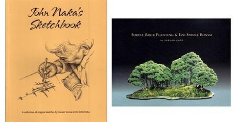 10.00 off - Set of 2 National Bonsai Foundation Bonsai Books