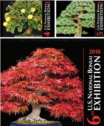Commemorative Albums 4, 5 & 6 - U.S. National Bonsai Exhibitions
