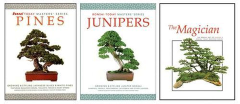 20.00 off - Masters Series Bonsai Books - Set of Three