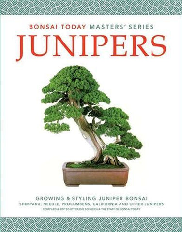 5.00 off - Masters Series Juniper Bonsai Book - Growing & Styling Juniper Bonsai