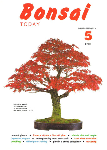 Bonsai Today 5 - Rare Out of Print