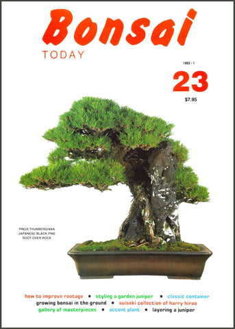 Bonsai Today 23 - Rare Out of Print