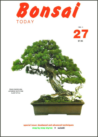 Bonsai Today 27 - Rare Out of Print