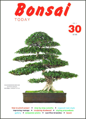 Bonsai Today 30 - Rare Out of Print