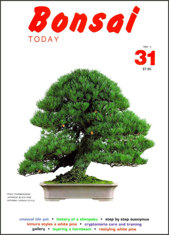 Bonsai Today 31 - Rare Out of Print