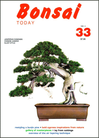 Bonsai Today 33 - Rare Out of Print