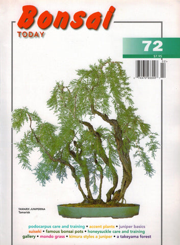 Bonsai Today 72 - Rare Out of Print