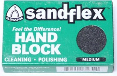Tool Cleaning Block - Medium grain
