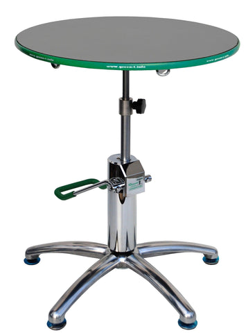 Green T PLUS Professional Hydraulic Lift Bonsai Turntable