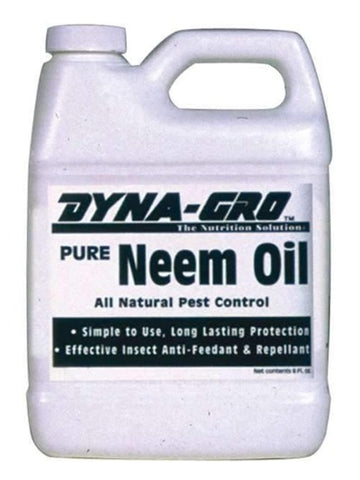 Neem Oil Organic Plant Protection 8oz