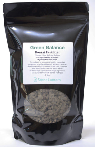 Green Balance Slow Release Bonsai Fertilizer 2 lb bag