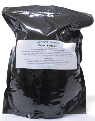 NEW Green Balance Slow Release Bonsai Fertilizer 8 lb bag