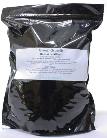 NEW Green Growth Slow Release Bonsai Fertilizer 8 lb bag