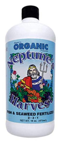 Organic Fish-Seaweed  Fertilizer- Essential Nutrients from the Ocean 16oz