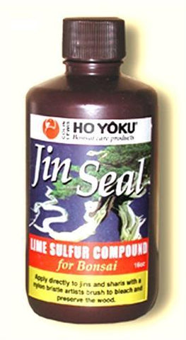 Jin Seal Lime Sulfur for Bonsai - 4oz