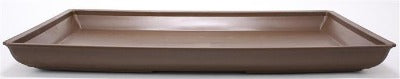 $10.00 OFF - Extra Large High Impact Plastic Bonsai Tray  - Brown