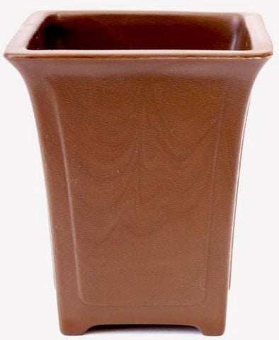 Cascade Bonsai Pot - High Impact Polystyrene Plastic - Brown