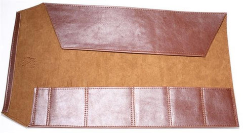Simulated Leather 6 Pocket Vinyl Bonsai Tool Roll