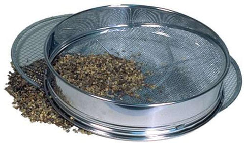"Bonsai Soil Sieve Set 3 screens by Yoshiaki - Large size 14.5"" diameter"