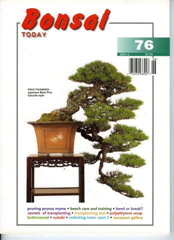 Bonsai Today 76 - Rare Out of Print
