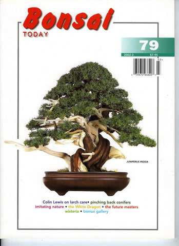 Bonsai Today 79 - Rare Out of Print