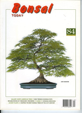 Bonsai Today 84 - Rare Out of Print