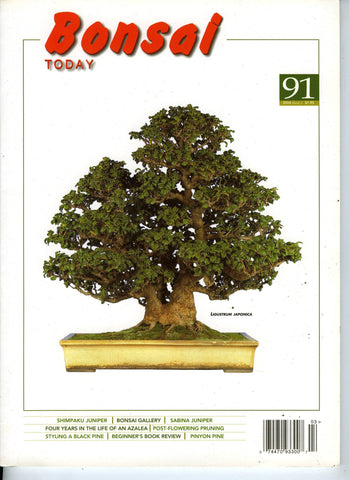 Bonsai Today 91 - Rare Out of Print