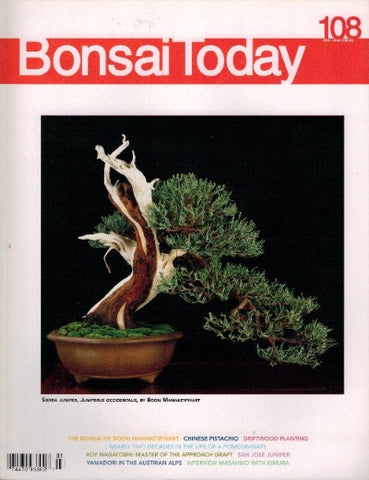 10.00 off - Bonsai Today 108 - Rare Out of Print