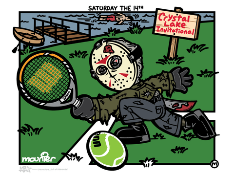 """Saturday The 14th"" Open Edition Print"