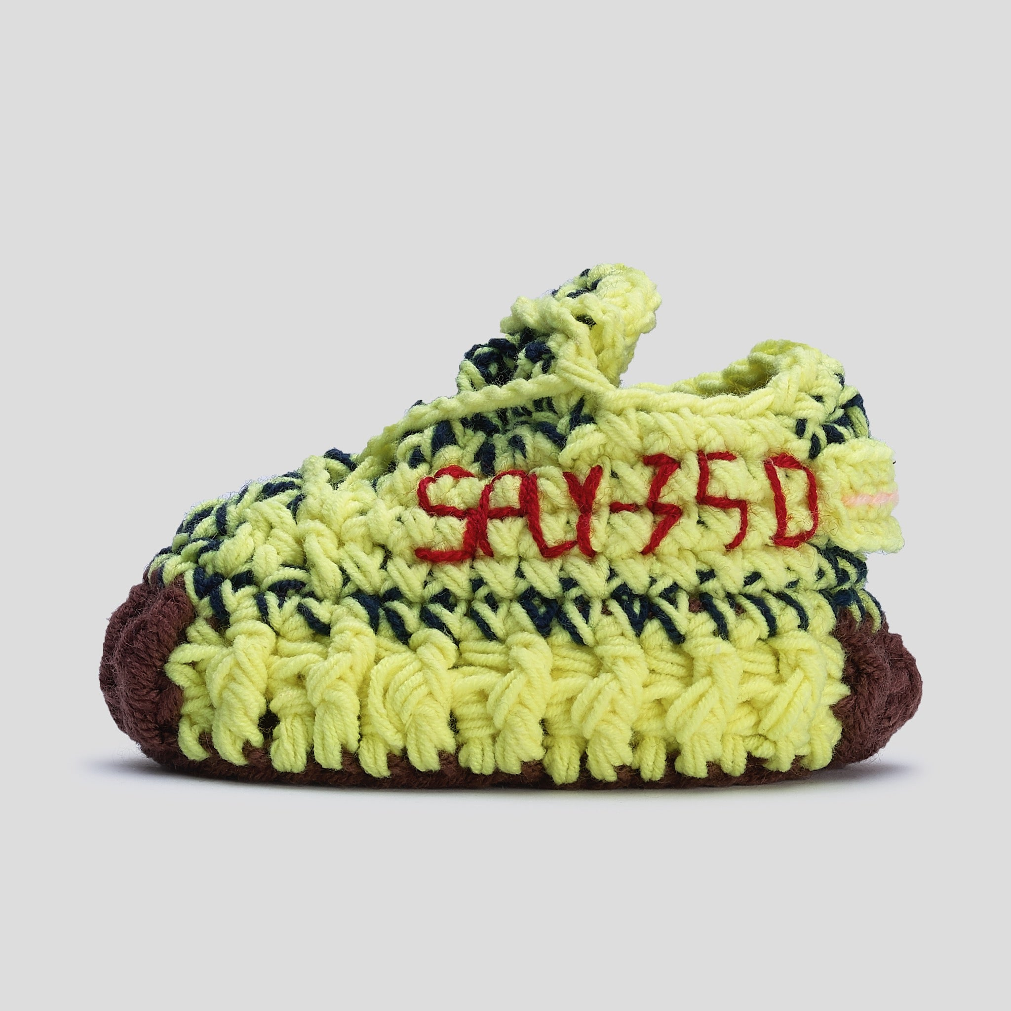 Baby Crochet Yzy Frozen Yellow