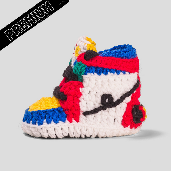 Baby Crochet IB-1 High Circus (includes soft felt bottom & shoe box)