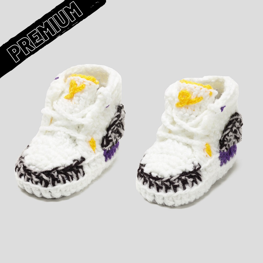 Baby Crochet IB-3 Mamba (Non-slip bottom & Shoe Box)