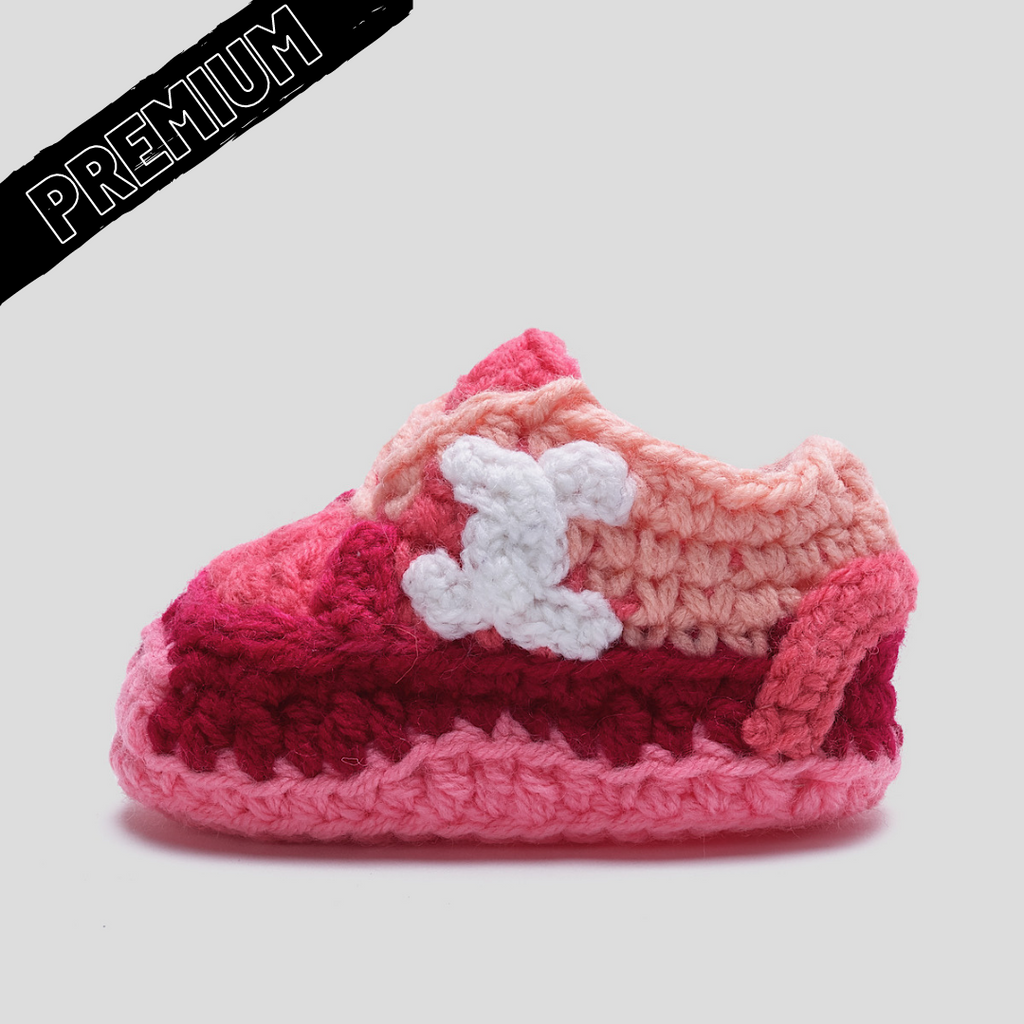 Baby Crochet CC(Soft felt non-slip bottom and shoe box)