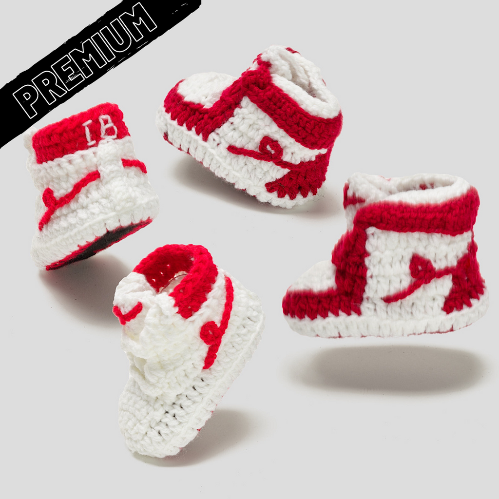Baby Crochet IB-NB 2 Pack (Soft felt non-slip bottom and box)
