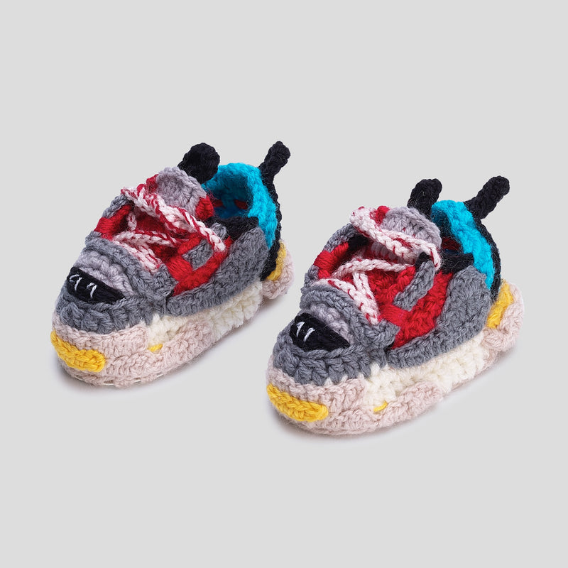 Baby Crochet Balen SSS Sneakers (soft leather bottom)