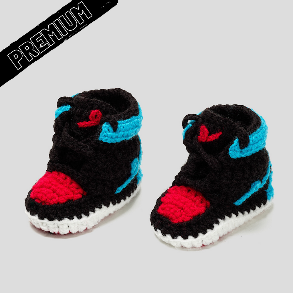 Baby Crochet IB-1 UNC to CHI (non-slip bottom & shoe box)