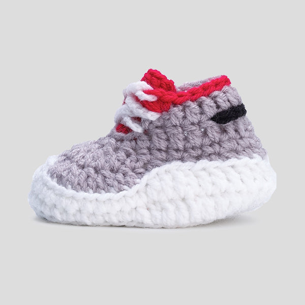 Baby Crochet Itzzy Runners Shadow (Soft Leather Bottom)