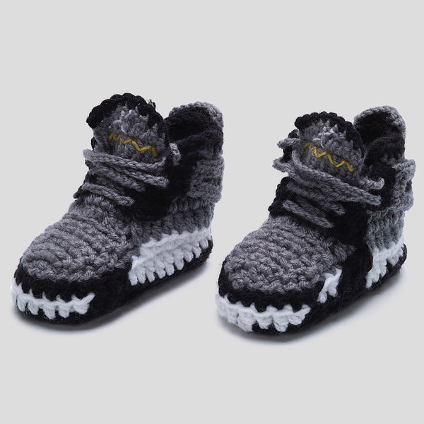 Baby Crochet J-4 Cool Grey