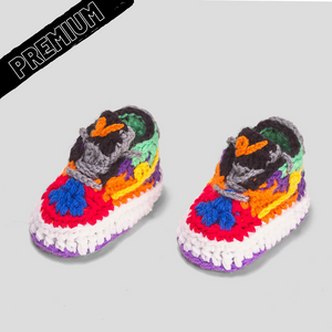 Baby Crochet IB-1 Low Circus (includes soft felt bottom & shoe box)