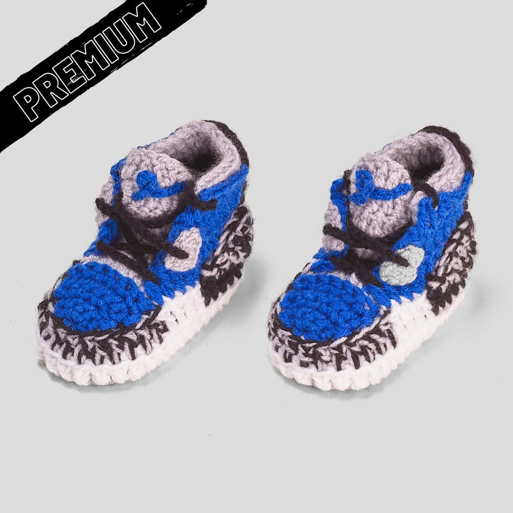 Baby Crochet IB-3 V-Royal (includes nonslip felt bottom & shoe box)