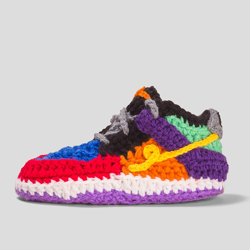 Crochet IB-1 Circus Low SLIPPERS TODDLER & KIDS